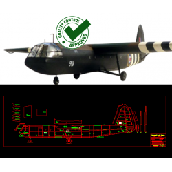 Airspeed As-51 Horsa - DXF...