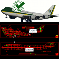 Boeing 747-8 - DXF - 1:20...