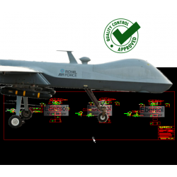 HardPoints for IMQ-9 Reaper...