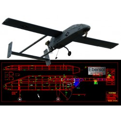 RQ-2A Pioneer - DXF - 81in...
